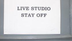 Radio - Live studio