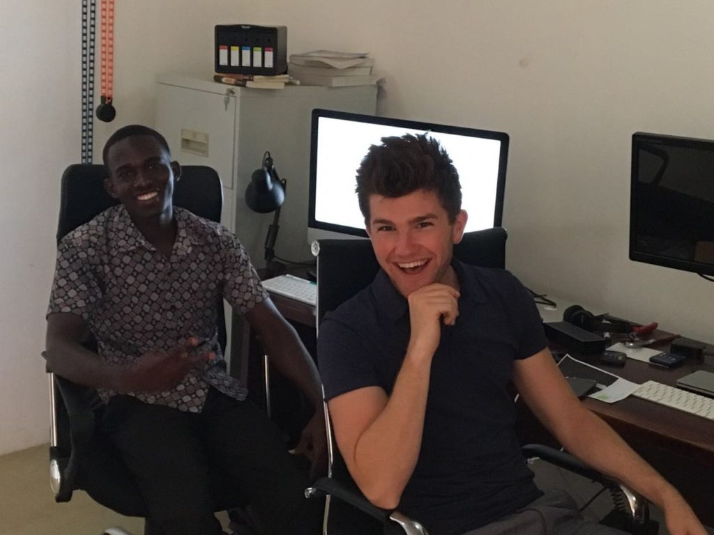 Kailan and Jonathan (Volunteers)