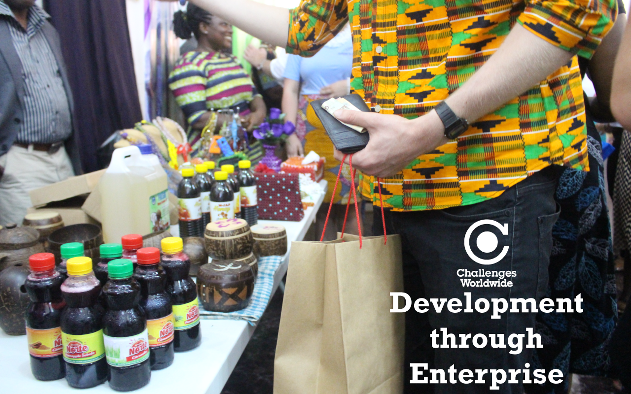 How Does International Development Through Enterprise Work?