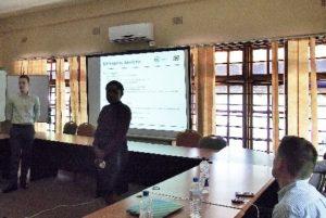 Likando and Lewis presenting on behalf of BDSA enterprise