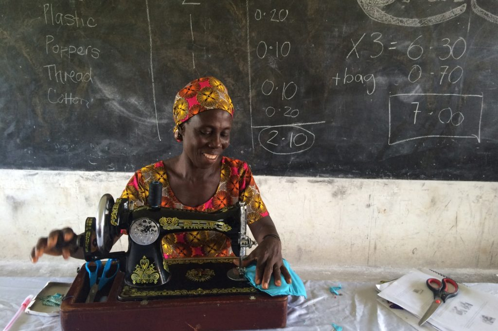 Katherine Stone Female Entrepreneur Kumasi Ghana