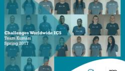 Challenges Worldwide ICS volunteers Kumasi Srping 2017