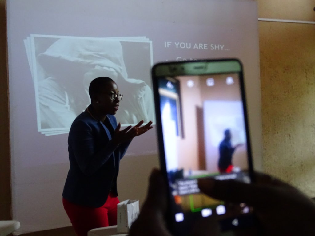 Ama Duncan Challenges Worldwide ICS networking skills