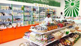 Umoyo natural health shop in Zambia