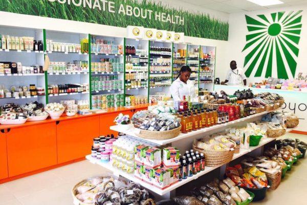 Umoyo natural health shop in Zambia