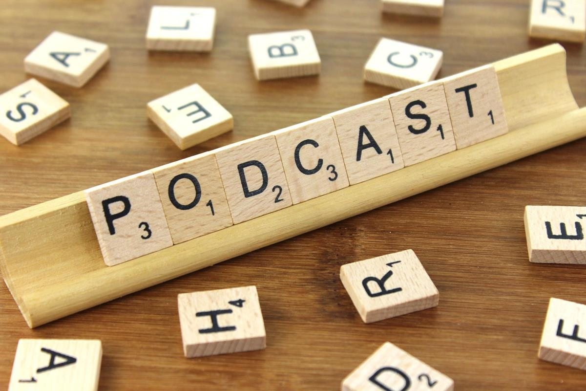 Listen and learn with podcasts