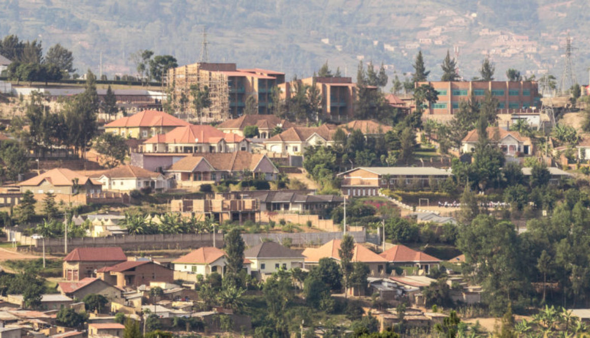 Houses on the hills of Kigali
