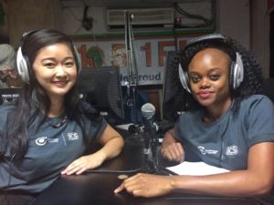 Natalie Cheung Zambia radio talkshow