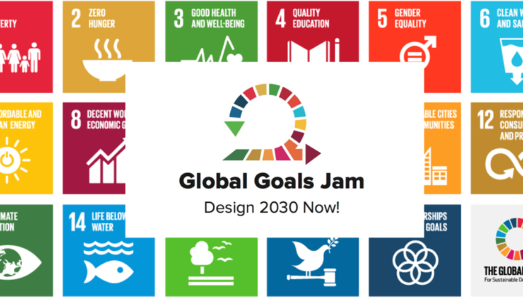 Join us at the Global Goals Jam!