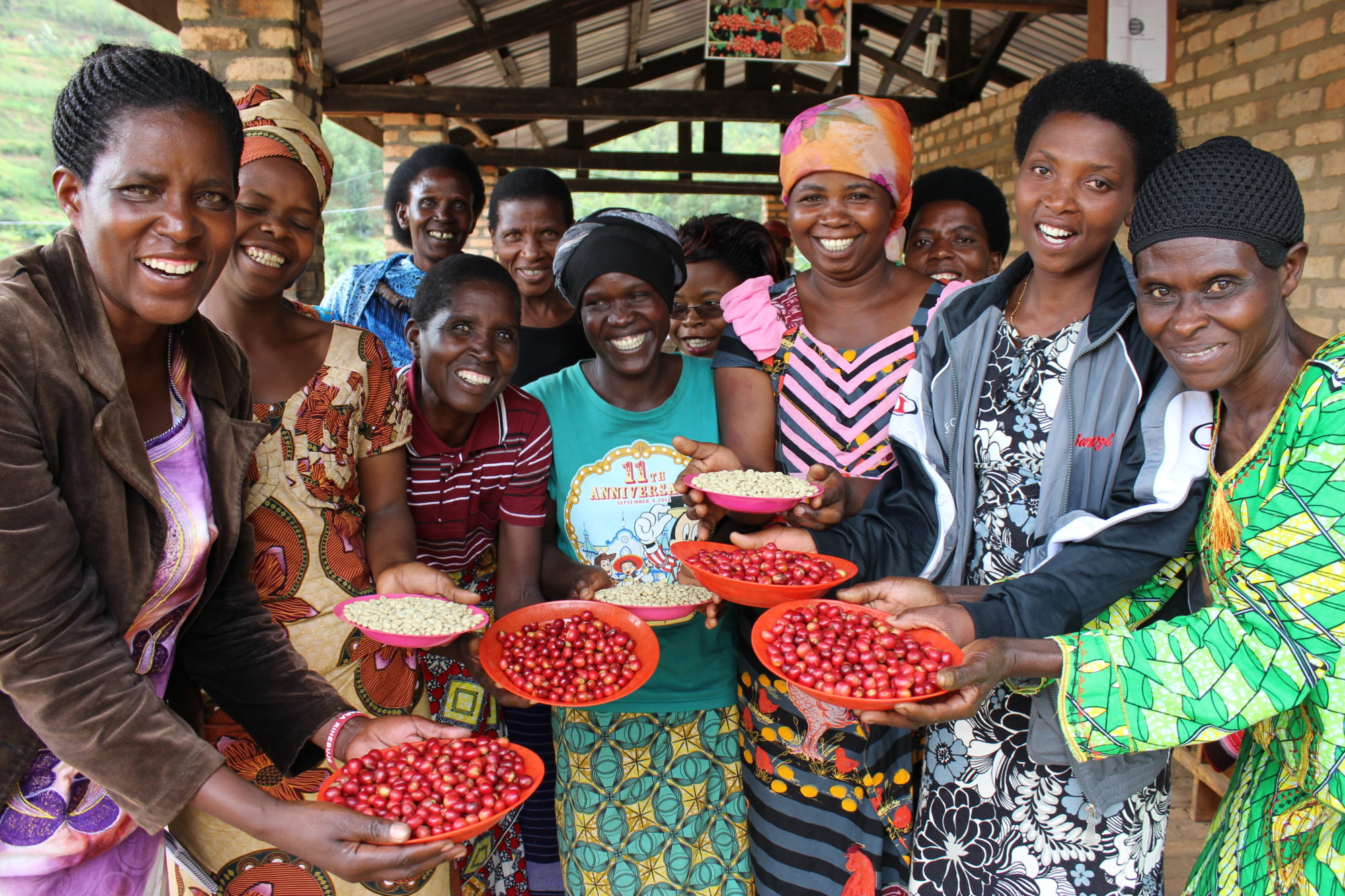 Rwanda Coffee Farmers Crefit: Twin