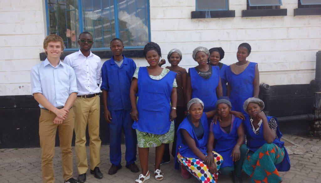 Jesse Cross as a Business Support Associate in Zambia