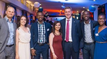 Uk High Commission Ghana Simon Kelly Cassie Celine Josh Ropa