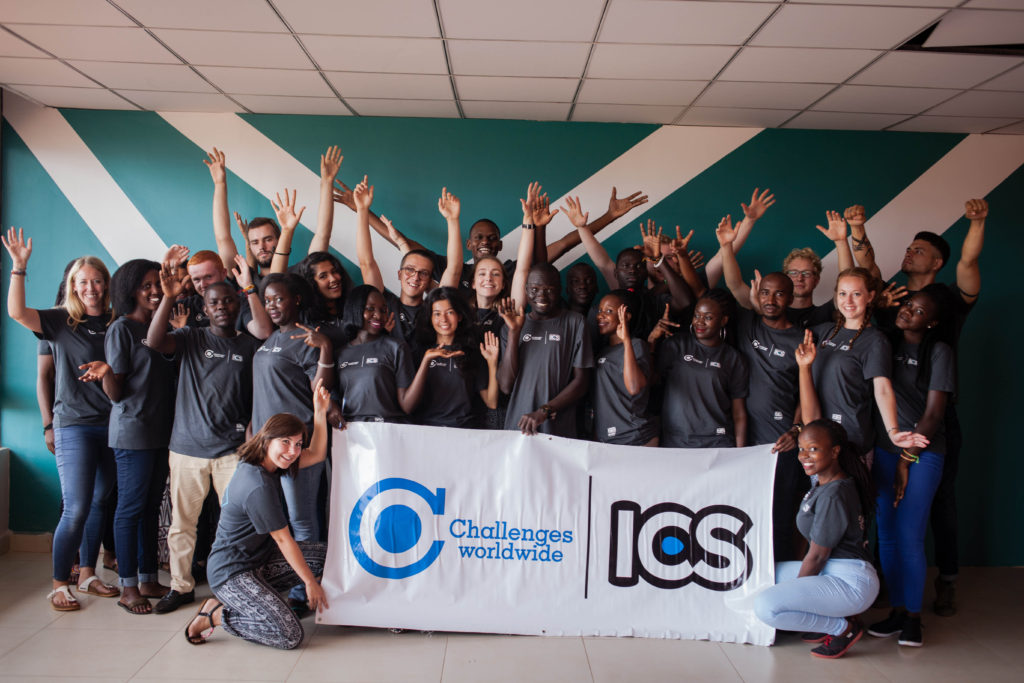 Challenges Worldwide ICS volunteers about to leave for their overseas placement