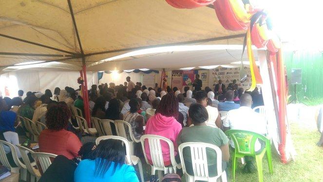 Workshop at the Youth Skills Expo 2017 Uganda