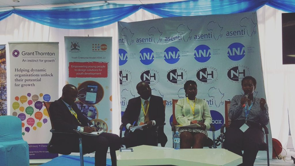 During the African Entrepreneurship Event