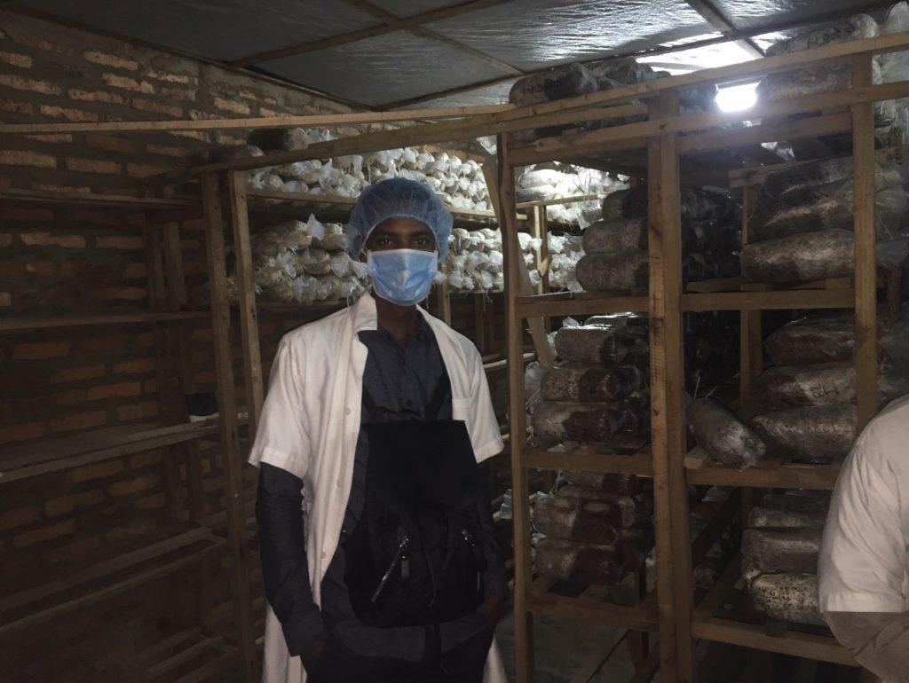 Challenges Worldwide volunteer making impact in Kigali Farms, Rwanda