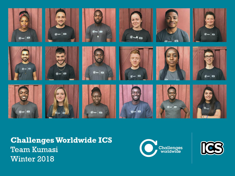 Meet the Team: Kumasi, Winter 2018