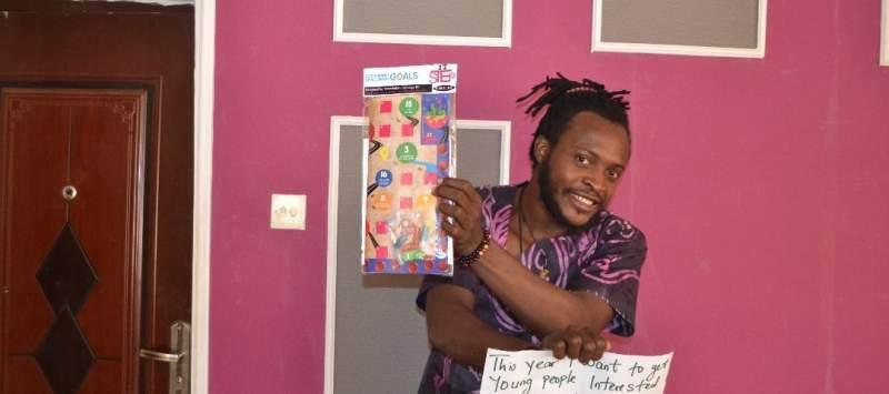 Kenechukwu Ogbuagu, ICS Project Officer, VSO, Nigeria