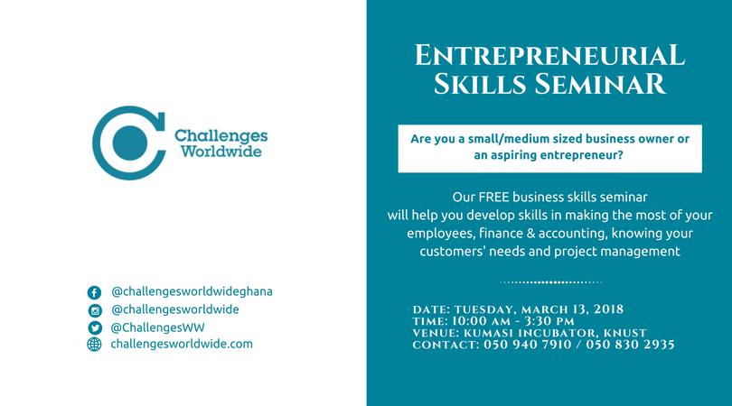 Entrepreneural Skills Seminar